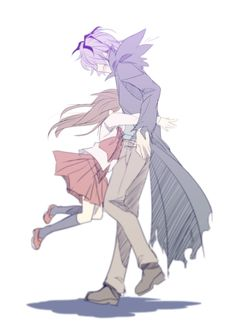 Garry x Eve (Ib) by Mtu    That moment when nothing else matters but hugging that person you care about.