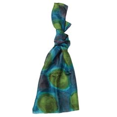 Love this vibrantly coloured silk scarf
