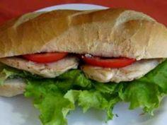 Sandwich de pollo light - Dr Cormillot