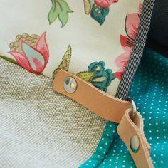 Bucket bag Monteverdi Canvas bag Handbag Shoulder bag Top