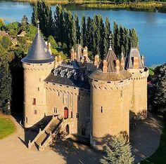 Château de Combourg, Commune of Combourg, Ille-et-Vilaine, Brittany, France.