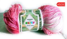 Pure Bamboo Yarn Hypoallergenic Batik Design Yarn by HandyFamily