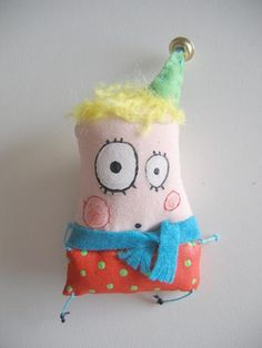IMG_0889 | Flickr - Photo Sharing! Baby Kids Wear, Ugly Dolls, Sock Dolls, Monster Dolls, Voodoo Dolls, Fabric Beads, Diy Sewing Projects, Fabric Textures, Knitting For Kids