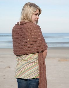 Free Pattern: Seedling Wrap by Tonia Barry