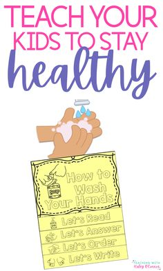 How to help kids stay healthy during our national pandemic. Videos to share with kids as well as a FREE flipbook about handwashing.