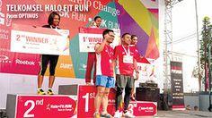 Telkomsel Halo Fit Run - Bandung Lp, Basketball Court, Running, Fitness, Sports, Travel, Hs Sports, Viajes, Keep Running