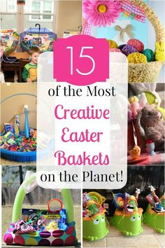 7 easter basket ideas your toddler girl will love basket ideas 15 of the most creative easter baskets on the planet negle Images