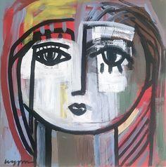 14 x 14 acrylic on canvas Craig Greene Face Art, Painters, Art Inspo, Ideas Para, Nashville, Art Ideas, Artists, Canvas, Baby