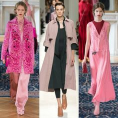 Pretty in Pink! Try these Paris Fashion Week Spring 2017 Style Tricks Now. Click the image for more...