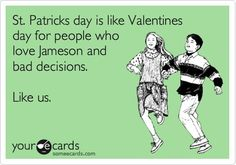 and corned beef & cabbage, soda bread, green beer ...