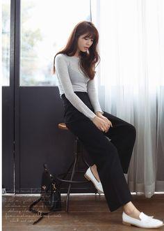 101 kiểu phối đồ cùng giày đế bệt phong cách như Jessica - SNSD 9