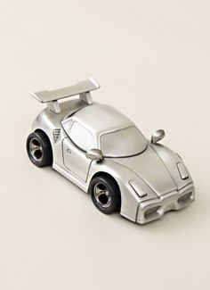 A gift to match his personality, like the Sports Car Bank, are great for milestones. First Birthday Gifts, Christening Gifts, Sentimental Gifts, Thoughtful Gifts, Baby Gifts, Car Room, Room Inspiration, Sports, Personality