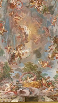 image Renaissance Kunst, Renaissance Paintings, Angel Aesthetic, Aesthetic Art, Simple Aesthetic, Spring Aesthetic, Aesthetic Iphone Wallpaper, Aesthetic Wallpapers, Cute Wallpapers