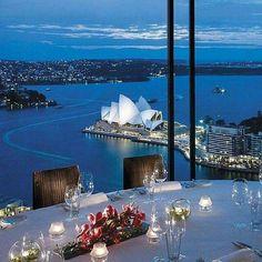 Romantic dinner at Sydney Australia Romantic Places, Romantic Dinners, Beautiful Places, Romantic Night, Romantic Getaways, Best Honeymoon Destinations, Travel Destinations, Dream Vacations, Voyager Loin