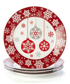 Take a look at this Ornament Plate - Set of Four by Design Imports on #zulily today!