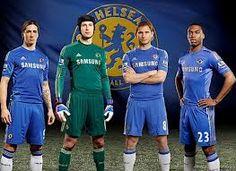 Fernando Torres, Petr Cech, Frank Lampard, and Daniel Sturidge
