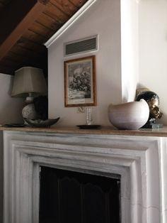 neat neat neat fireplace, via thebeauxjournals.com