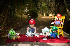 Smash the cake menino, Tema Mario Bros. #Smashthecake #smashthecakeexterno #babyboy #Boy #ThaisThomazzoni #photographer