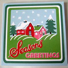 Cath Kidston Christmas Card