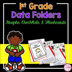 Giving assessments and keeping track of student progress can be very time consuming. Use these Data Dashboard folders to help you keep individualized folders for your first graders and let them track their progress! I have included tracking sheets for basic 1st grade skills (letters, sounds, numbers, sight words, etc) so you can see how your students are progressing throughout the year.