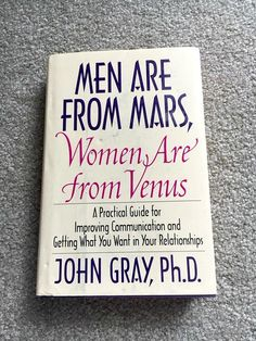 Vintage Book  Men are From Mars Women Are from Venus  by Pastfinds