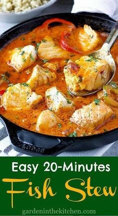 Curry Recipes, Soup Recipes, Cooking Recipes, Healthy Recipes, Easy Cooking, Cooking Time, Fish Dishes, Seafood Dishes, Soups
