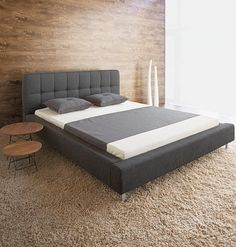 Ideas for DIY bed frame. would work good for my new air chamber bed.