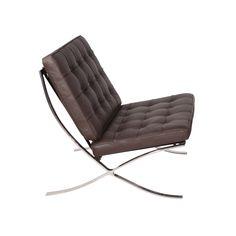 Catalan Chair in Brown | dotandbo.com $849