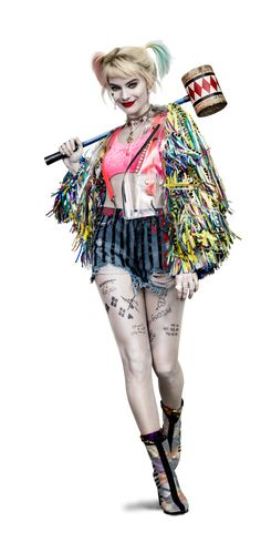 Birds of Prey Harley Quinn png by on DeviantArt Harley Quinn Tattoo, Harley Quinn Drawing, Harley Quinn Comic, Harley Quinn Cosplay, Costumes Harley Quinn, Arlequina Margot Robbie, Margot Robbie Harley Quinn, Bird Of Prey Tattoo, Harey Quinn