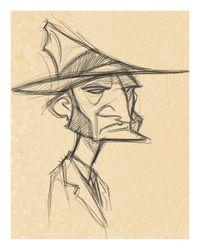 Concept Design Sketches - The Art of David Boudreau