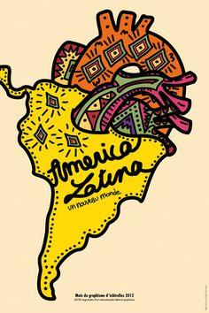 20 sur 20 america latina un nouveau monde Design, Latina Tattoo, Latino Art, Art, Funny Tattoos, Poster Design, Vintage Posters, Art And Architecture
