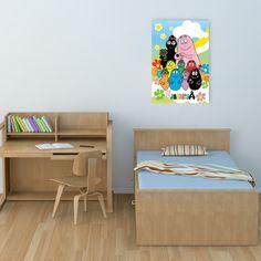 Barbapapà 69x99 cm #artprints #interior #design #art #print #cartoon  Scopri Descrizione e Prezzo http://www.artopweb.com/categorie/cartoni/EC21509
