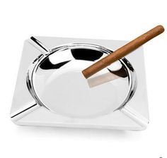 Household Merchandises Ashtrays Zinc alloy quadrate European aristocracy cigar ashtray free shipping #Affiliate