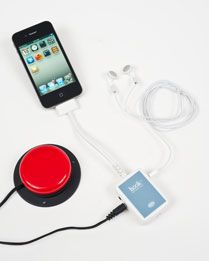 The Ablenet Hook brings the music of the iPod to kids who use accessibility switches! - Re-pinned by @PediaStaff – Please Visit http://ht.ly/63sNt for all our pediatric therapy pins