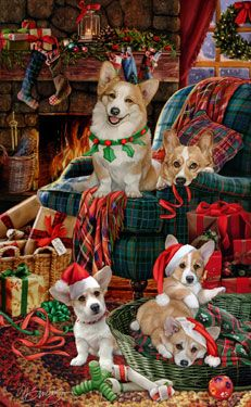 Pembroke Welsh Corgi - Welcoming Committee