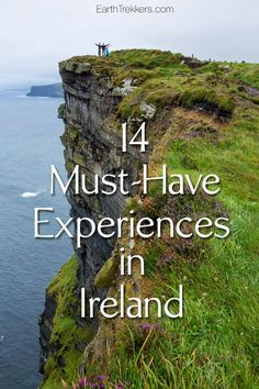 Best experiences in Ireland. Cliffs of Moher, Dingle…