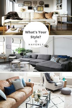 Do you swoon for leather with hardware details? Are you obsessed with faux fur & luxe accents? Do you prefer clean lines & neutral colors? Discover your perfect style combination with Havenly's free Style Quiz, then get your space to match with help from a professional designer. All online, one low price.