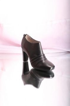 Wrinkled Leather Booties 20% OFF- Code PINTEREST20