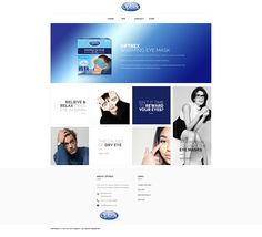 Optrex, Wordpress concept Wordpress, Concept, Eyes, Cat Eyes