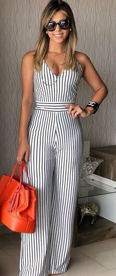 How to Wear: The Best Casual Outfit Ideas - Fashion Summer Outfits, Casual Outfits, Cute Outfits, Look Fashion, Fashion Outfits, Womens Fashion, Overall, Mode Style, African Fashion