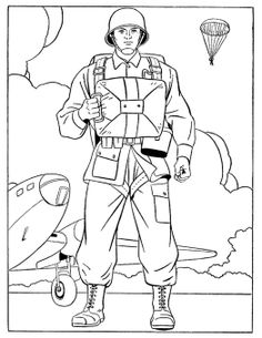 army guy coloring pages - postman 3 coloring page post office pinterest