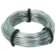 Bailing wire for sculpture; about $10/lb, .99/roll 20g Harbor Freight
