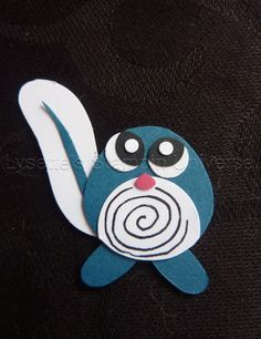 Gotta Craft Them All challenge dag 62: #Poliwag #pokemon https://www.facebook.com/Lysettes.stampin.universe/