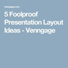 Are you tired of boring old PowerPoint presentations? Here are 5 presentation layout ideas that you can use to create engaging slide decks. Presentation Layout, Content, Ideas, Thoughts