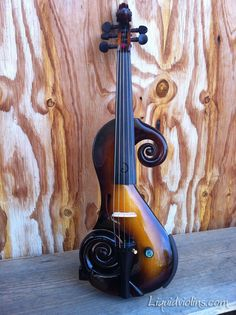Five string electric violin by Brandon MacDougall Ojai♥