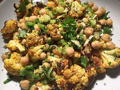 Gerösteter Blumenkohl-Salat