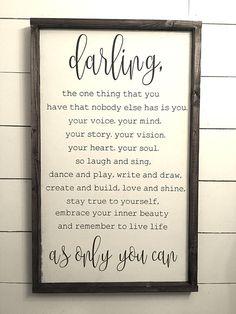 Darling FREE SHIPPING