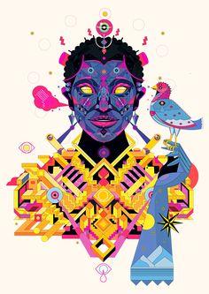 Faces on Behance Graphic Design Print, Graphic Design Typography, Graphic Design Illustration, Graphic Design Inspiration, Illustration Art, Tumblr, Book Cover Design, Amazing Art, Vector Art