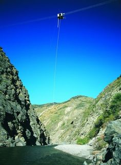 Do the biggest and baddest bungy jump in New Zealand - The Nevis Bungy, Queenstown.