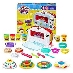 Play-Doh Kitchen Creations Magical Oven 2018 Best gifts for seven year old girls birthday presents and Christmas gift ideas too! Got a 7 year old girl! They are going to love all these present ideas for their bday or xmas gift this year. Dango Peluche, Play Doh Kitchen, Layout Design, Pretend Food, Play Food, Pretend Play, Cool Toys For Girls, Cool Presents, Crazy Cakes